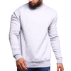 Men'S Plain Sweatshirt - Light Grey