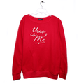 Women Sweatshirt - Red