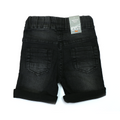 Boys Denim Short - Black