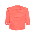 Boys Check Shirt - Orange