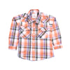 Boys Midscale Check Shirt - Multi