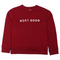 Girls Printed Sweatshirt - Maroon