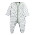 Boys Stripe Bodysuit - Light Green