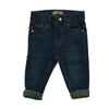 Boys Denim Pant - Dark Green