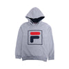 Boys Graphic Hooded T-Shirt - Grey