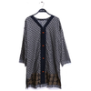 Women Printed Kurti - Black