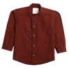 Boys Plain Casual Shirt - Brown