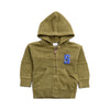 Boys Hoodie Zipper - Dark Green