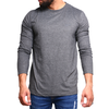 Men's Plain Tees - Grey