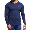 Men's Sports Tees - Navy Blue