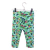 Girls Floral Printed Capri