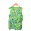Boys Printed Sando -Green