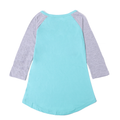 Girls Graphic Tees - Sky Blue
