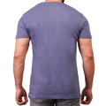 Men's R-Neck Plain Tees - Grey