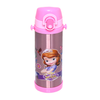 Stainless Steel Water Bottle With Straw 500Ml