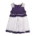 Girls Frock - Purple