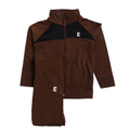Boys Exst Tracksuit - Brown