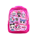 Character School Bag - Pink