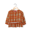 Striped Kurti - Orange