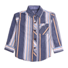 Boys Stripe Shirt - Grey