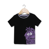Smart Boy Graphic Tees - Black