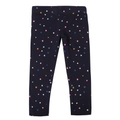 Girls Printed Legging - Dark Blue