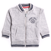 Boys Zipper - Light Grey