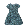 Girls Floral Frock - Blue