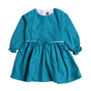 Girls Casual Frock - Sea Green