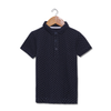 Polka Dots Polo - Navy Blue