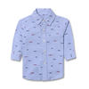 Printed Shirt - Blue