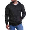Men's Hoodie Zipper - Dark Grey
