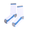 Women's Long Socks - Blue Striped
