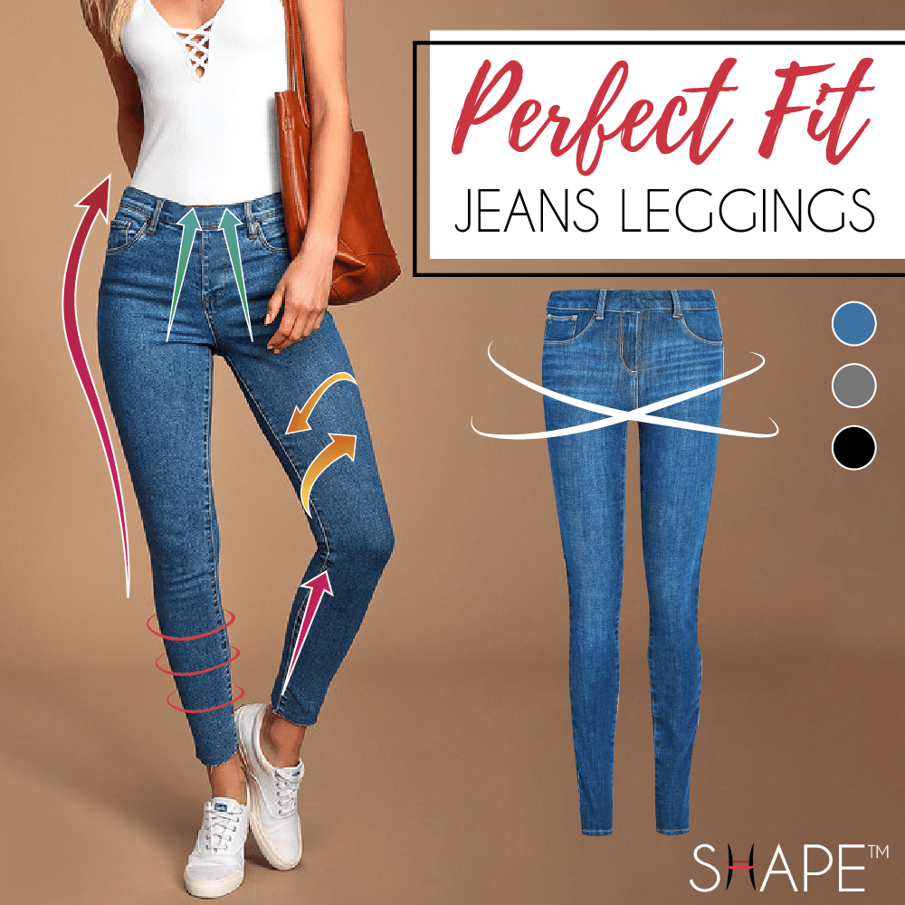 Perfect Fit Jeans Leggings Beauty Monymallyhome