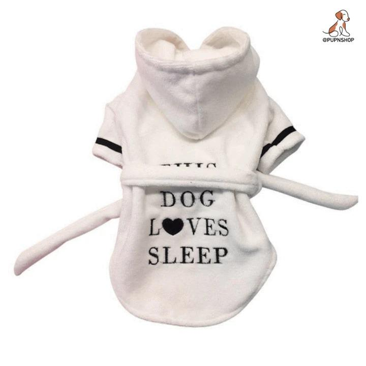 Pet Cotton Bathrobe - Pup n Shop