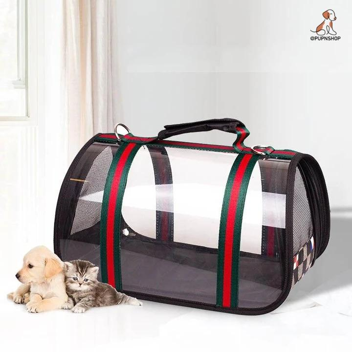 Pucci Pet Traveling Carrier - Pup n Shop