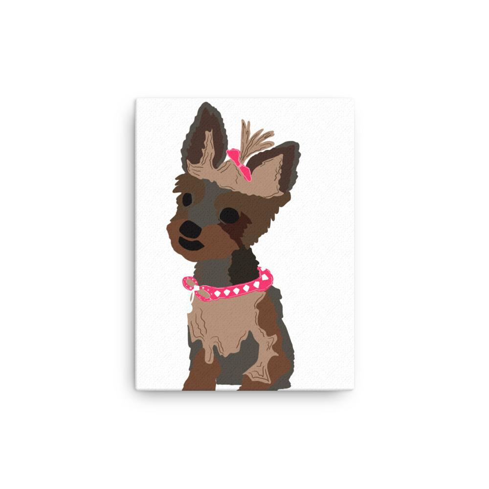 Designed by Belladonna: Custom Illustrated Canvas - Pup n Shop