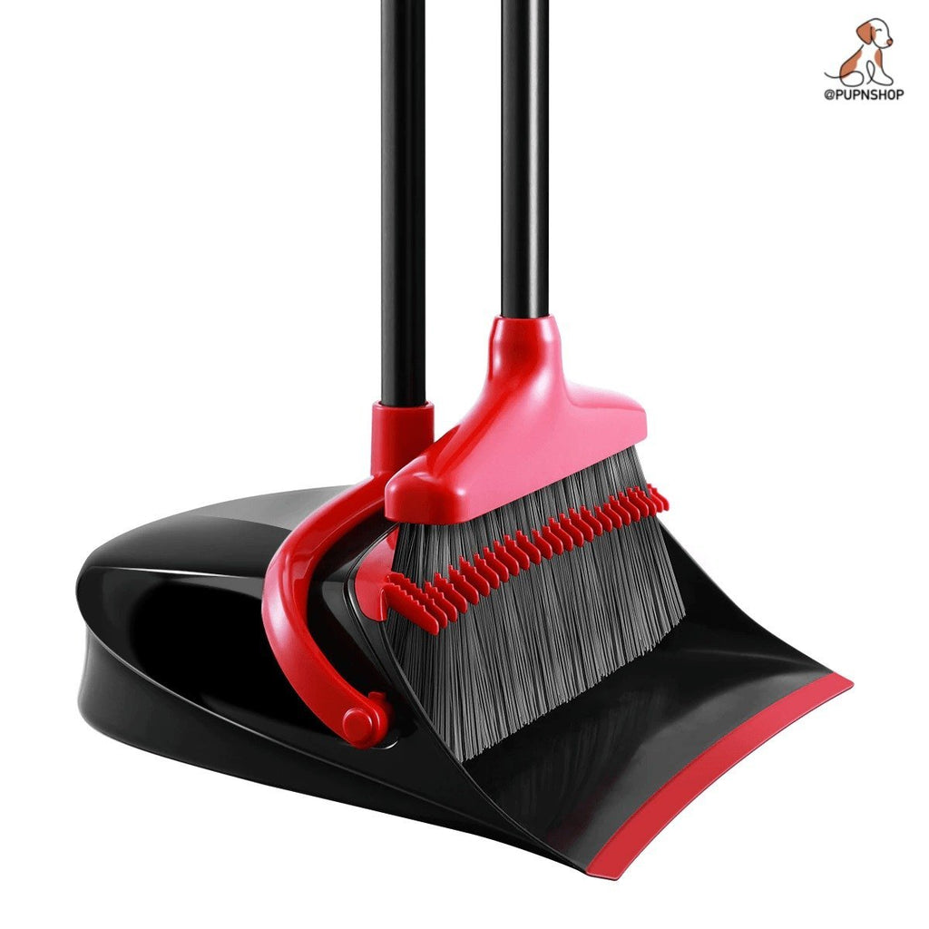 Self Cleaning Broom and Dustpan Set - Pup n Shop