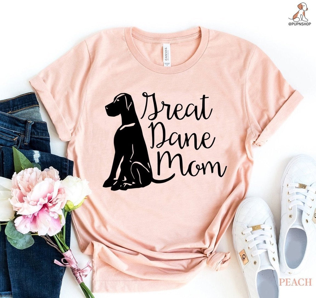 Great Dane Mom T-Shirt - Quick Delivery - Pup n Shop