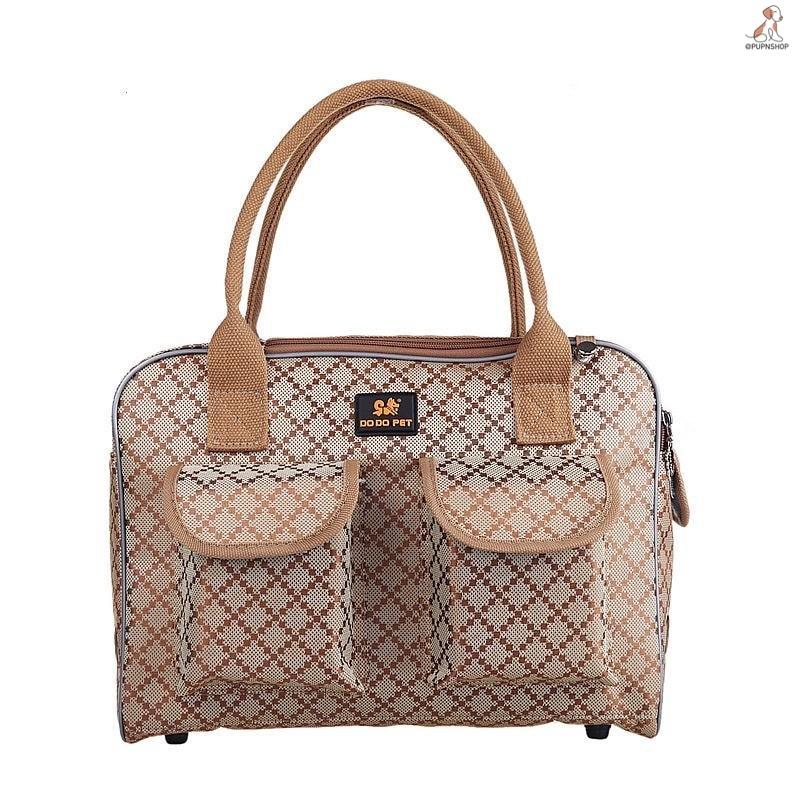 Designer Cloth Pet Handbag - Pup n Shop