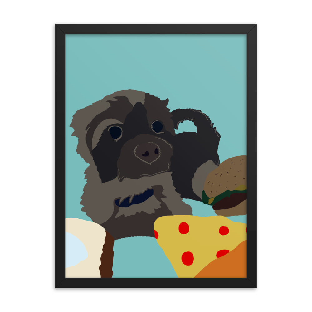 Designed by Belladonna: Custom Illustrated Poster - Pup n Shop