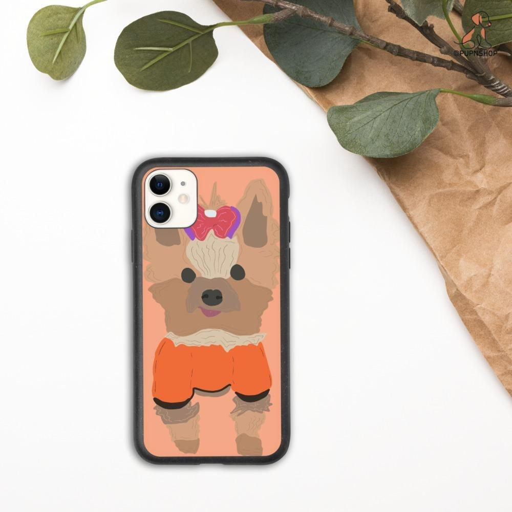 Designed by Belladonna: Custom Illustrated iPhone Case - Pup n Shop