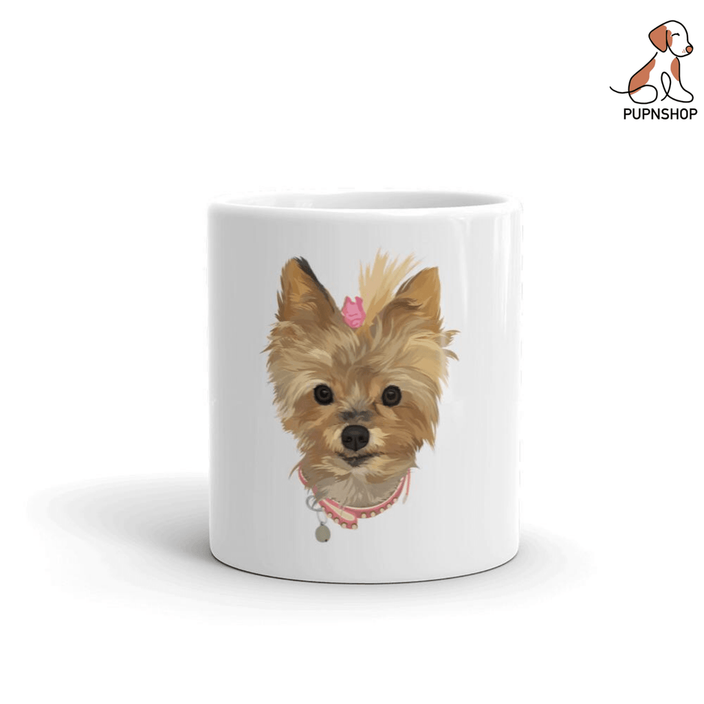 Designed by Primrose: Custom Illustrated Mug - Pup n Shop