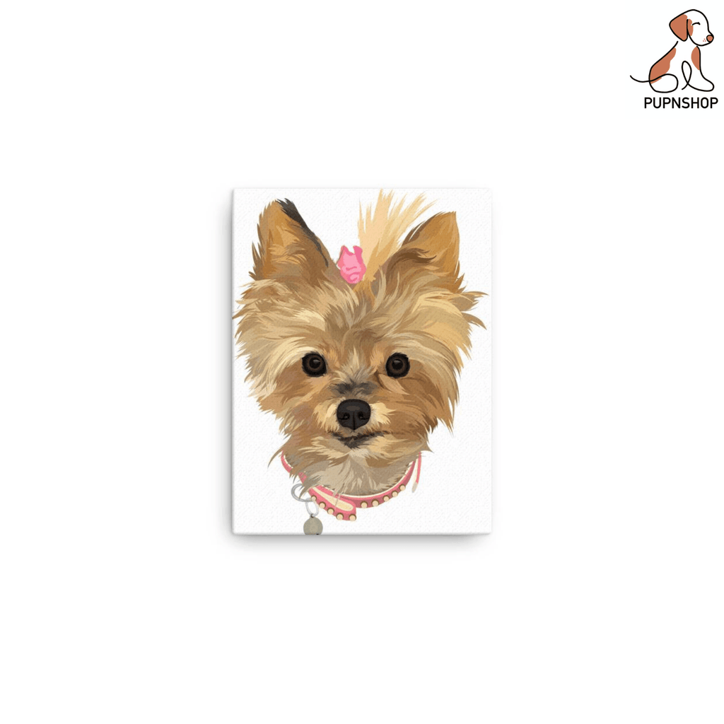 Designed by Primrose: Custom Digital Canvas - Pup n Shop