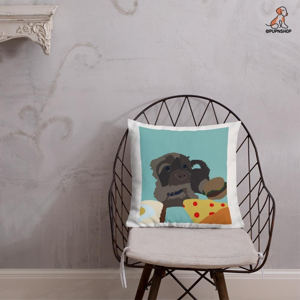 Designed by Belladonna: Custom Illustrated Pillow - Pup n Shop