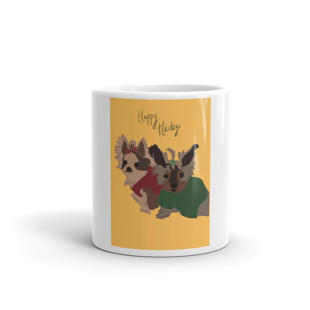Designed by Belladonna: Custom Illustrated Mug - Pup n Shop
