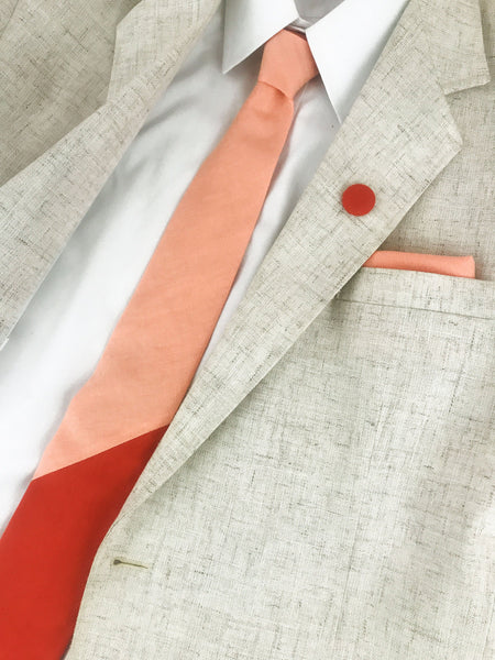 Color Block Neckties