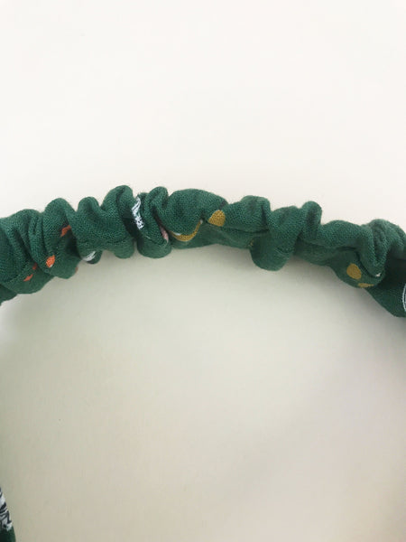 Lelise Twisted Headband in Hunter Green
