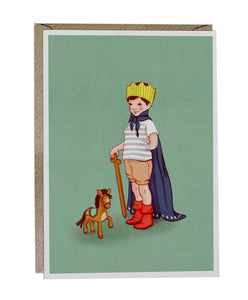 The Little King Card