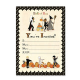 Halloween Party Invitations